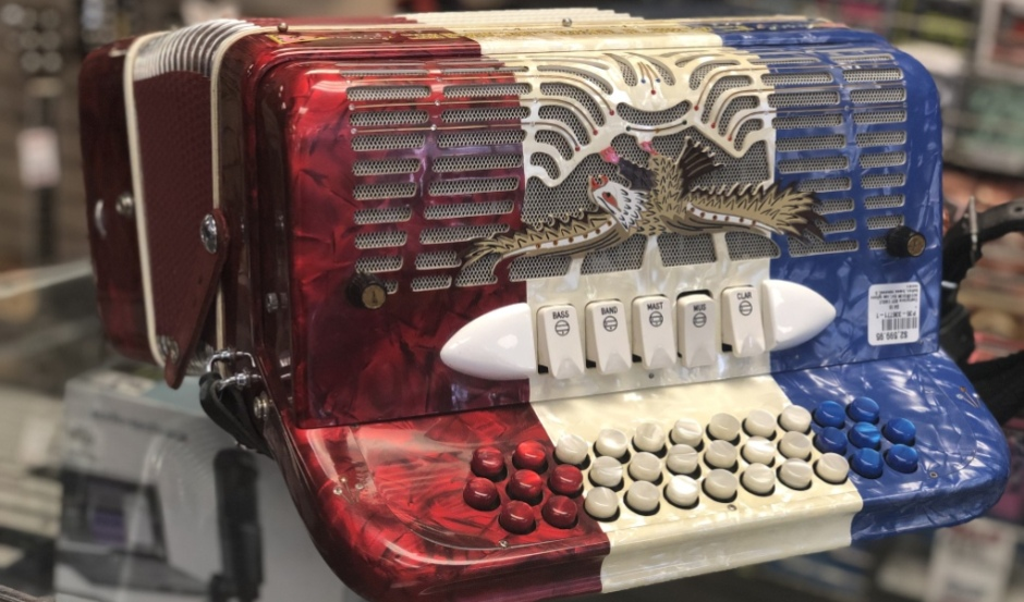 Product Image Button Accordion