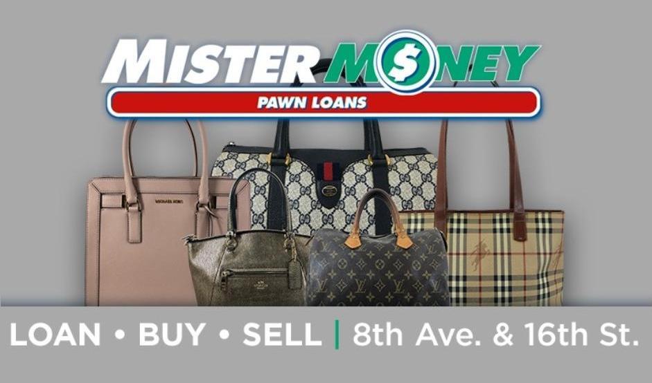 Mister Money logo Purses